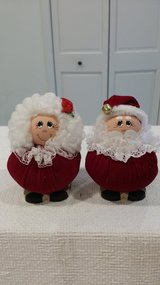 Mr. and Mrs. Claus in St. Charles, Illinois