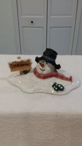 Ceramic Snowman - I Love Snow in St. Charles, Illinois