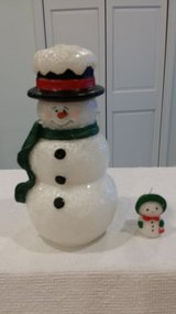 """Snowman candle - 8"""" tall in St. Charles, Illinois"""