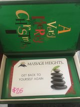 MASSAGE HEIGHTS GIFT CARD in Spring, Texas