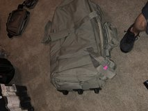 Duffle bag with wheels in Fort Carson, Colorado