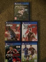 PS4 GAMES in Lakenheath, UK