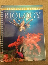 BIO 111 , BIO 112 Lab Manual, CCCC. 12th ed in Camp Lejeune, North Carolina