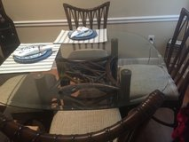 """42"""" dining table with 4 chairs in Pasadena, Texas"""