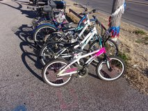 Magna Pink and White Girls Bicycle in Fort Riley, Kansas
