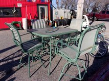 Five Piece Patio Table and Chairs Set in Fort Riley, Kansas