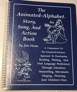 The Animated Alphabet Story, Song, & Action Book in Okinawa, Japan
