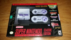 SNES Super NES Nintendo Entertainment System Classic Edition BRAND NEW IN BOX never opened in Chicago, Illinois