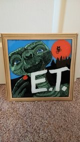 E.T. Glass painting in Byron, Georgia