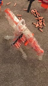 Nerf automatic rifle (discontinued) in Belleville, Illinois