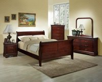 Montreal Bed Set - US QS & US KS - see VERY IMPORTANT below - Pkg- bed-dresser-mirror--night stand in Ansbach, Germany