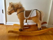 articulated movements with sound Plush Rocking Horse in Bolingbrook, Illinois