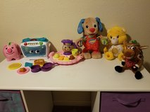 Talking singing dancing and wiggled Toys in new condition in Fort Polk, Louisiana
