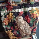 OWL QUILTED TOTE  PURSE in Vacaville, California