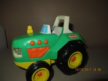 Buddy L Green Electronic Plastic Farm Tractor #9291 Year 1996 in Plainfield, Illinois