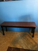 "All wood bench 14"" wide 47"" long. 18"" tall in Conroe, Texas"