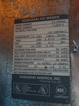 Hoshizaki KM-500 MAE Air cooled Ice maker with bin in Chicago, Illinois