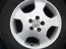 17inch rims and tires set (Toyota original) in Okinawa, Japan