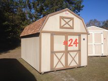 10x16 Lofted Barn Storage Building Shed RED TAG SPECIAL!! in Moody AFB, Georgia
