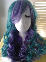 Beautiful Prple and Turquoise Long, Curly WIG! in Yucca Valley, California