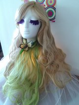 BEAUTIFUL! Blonde and Light Greeen Wig! Brand NEW! in Yucca Valley, California
