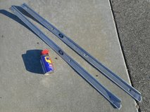 1973-77 OEM 2-Door CHEVY Aluminum DOOR SILL/THRESHOLD Plates -- Pair of 1Left/1Right in Fairfield, California