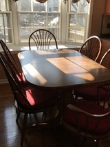 Beautiful 7 Piece Table Set with 2 leafs in St. Charles, Illinois