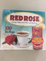 Red Rose Tea with Wade Figurine in the Box! in Byron, Georgia