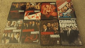 NEW in package CRIMINAL MINDS Several Seasons DVDs in Algonquin, Illinois
