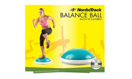 NEW NordicTrack Balance Ball w/Platform and DVD in Algonquin, Illinois