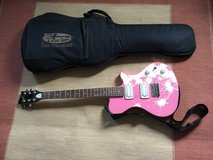 First Act Pink Electric Guitar with Soft Case in Travis AFB, California