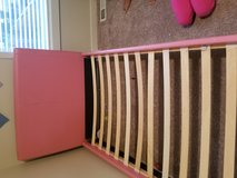 Pink Twin bed in Fort Lewis, Washington