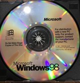Microsoft windows 98 CDrom Software in Plainfield, Illinois