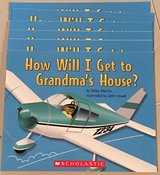 6 Scholastic Guided Reading Books How Will I Get to Grandma's House? in Okinawa, Japan