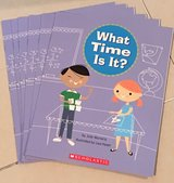 6 Scholastic Guided Reading Books What Time Is It? in Okinawa, Japan