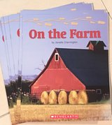 6 Scholastic Level C Guided Reading Books On the Farm in Okinawa, Japan