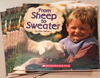 6 Scholastic Level B Guided Reading Books From Sheep to Sweater in Okinawa, Japan