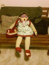 Funny Quirky - Sitting Grandma Detailed Doll in Glendale Heights, Illinois