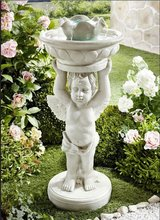 Angel Fountain 220 Volt inside and outside use in Ramstein, Germany