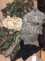 military clothing in Fort Benning, Georgia