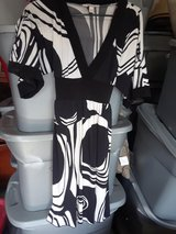 Black and white dress in Conroe, Texas