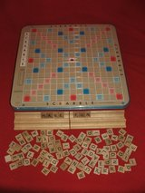 Scrabble Deluxe Edition Rotating Board Game in St. Charles, Illinois