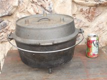 "8 qt. DUTCH OVEN, ""Lewis & Clark Corps. of Discovery"", by CAMP CHEF in Travis AFB, California"