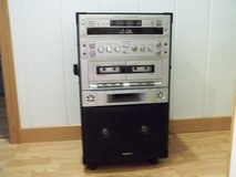 REDUCED!!!  KARAOKE SYSTEM SEMI-PRO 3 CD/CDG CAROUSEL W/ DUAL CASS. - 27 TAPES INC. in Cherry Point, North Carolina