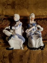 MALE AND FEMALE COLONIAL FIGURINES in Fort Campbell, Kentucky