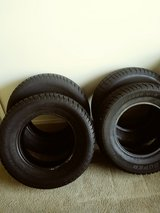 Mud & Snow Cooper Tire. They are still in good condition. The tire has been used only one winter... in El Paso, Texas