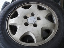 15inch rims and tires set(3) in Okinawa, Japan