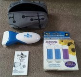 CORDLESS PEDI EGG POWER & NIP REFILLS, WITH CASE in Lakenheath, UK