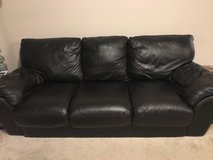Leather Pull-Out Couch in Fort Benning, Georgia