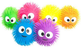 5 different color Set, Puffer Ball lights up in Ramstein, Germany